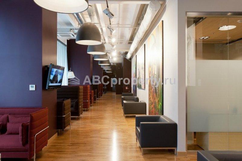 интерьер БЦ Cabinet Lounge